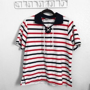 Alfred Dunner striped shirt